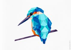 kingfisher art - Google Search