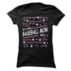 Personalized Name Its the Baseball mom, life... Shirts & Tees