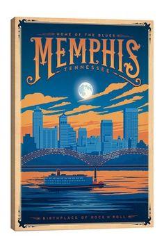 Memphis Tennessee Canvas Print