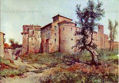 Basilica dei Santi Quattro Coronati Anno: 1884 Fotografo: Ettore Roesler Franz