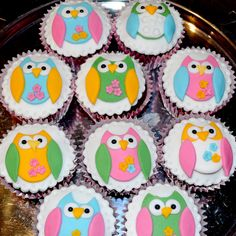 owl cup cakes | Owl Cupcakes | Flickr - Photo Sharing!