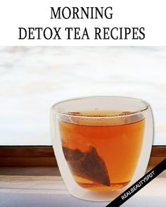 Best Detox tea recipes for healthy body and glowing skin