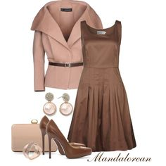 Pink Belted Jacket, created by mandalorean on Polyvore