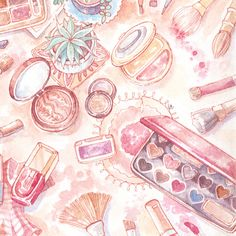 Custom watercolor illustration created for your brand & social media. Perfect as a blog header. Commission a piece of art for your personal branding and design. Created in watercolors and ink, with optional digital or hand drawn text elements. Sized appropriately for all the online presences you might need, png and/or jpg. Add text elements to integrate your blog name/your name in the illustration.  Details can be discussed via messaging, or ask me directly here: parkevelyne@gma...