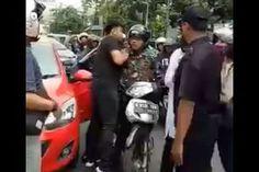 Inilah Video Detik-Detik Bimantoro Pemuda Yang Pukul Anggota TNI