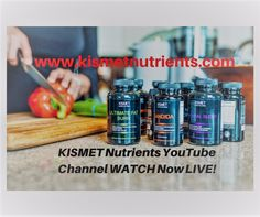 #KISMET #Nutrients Youtube channel is now online! Please click on link  checkout our videos https://www.youtube.com/channel/UCJ7TwhFE_rliwKjhMq0_mMg #health #supplements