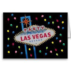Las Vegas PARTY Card