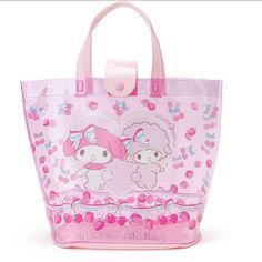 Sanrio Original My Melody Beach Shoulder Bag PVC Clear Spa Bag Japan Vacance #SanrioJapan