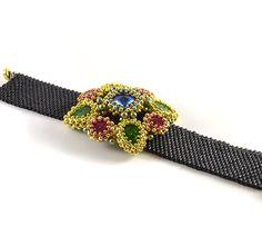 Liisa Turunen Designs - Lioness Bracelet Beading Kit Gold