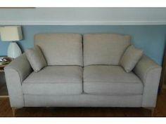 2 x Reid Furniture Sofas, oatmeal colour Edinburgh Picture 1