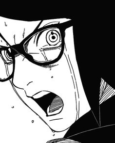 Find images and videos about anime, manga and cry on We Heart It - the app to get lost in what you love. Naruto Shippuden, Manga Naruto, Boruto And Sarada, Sasuke Sakura Sarada, Naruto And Sasuke, Manga Anime, Konoha Village, Anime Lineart, Naruto Clans
