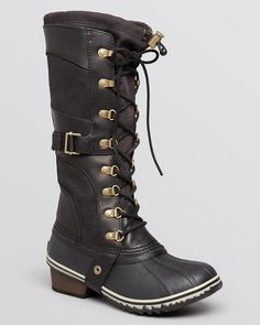 Sorel Lace Up Cold Weather Boots - Conquest Carly | Bloomingdale's