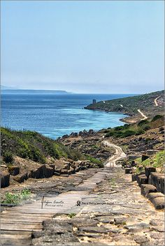 Ancient road to Tharros | San Giovanni di Sinis, Sardinia