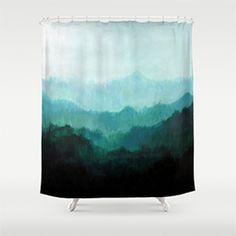 This Society 6 Shower Curtain.