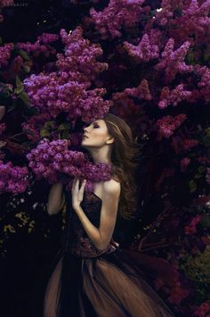 Just stunning. I can almost smell the lilacs. Lilac* by ~rossalev-andrey