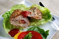 Grill a lighter burger for Dad with these juicy, vegetable and cheese filled turky patties.
