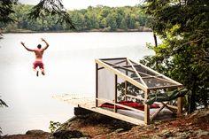 Dream/Dive Camping Hut by Studio North | HiConsumption
