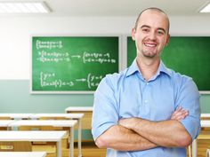 """""""After school, I like to stand in my immaculate classroom and reflect on a job well done.""""—Completely Realistic Stock Photos About Teaching"""