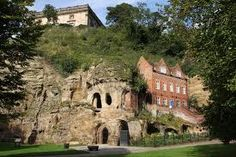 The dungeon believed to have housed Robin Hood when he was caught by the Sheriff of Nottingham located at what is now the Galleries of Justice. Nottingham Caves, Nottingham Road, Nottingham Castle, Places To Travel, Places To Go, Vikings Time, 3d Laser, Castle Rock, Travel Memories