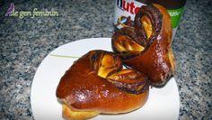 Inimioare umplute cu Nutella – prăjitură de Valentine's Day