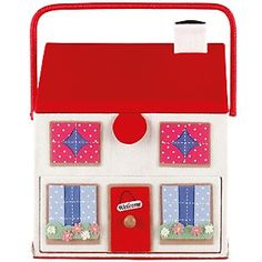 cath kidston, town house sewing basket