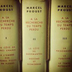 Marcel Proust - A la recherche du temps perdu