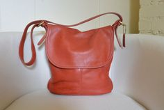 Vintage Coach Whitney in Red by TheAdventurersLegacy on Etsy