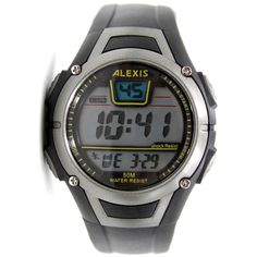>> Click to Buy << ALEXIS Brand Black Watchcase Date Alarm BackLight Water Resist Unisex Digital Watch DW423A #Affiliate