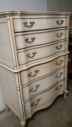 1960s French Provincial Bedroom Furniture In The Style