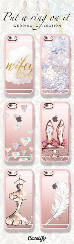 6 must have wedding iPhone 6 protective phone cases | Click through to see more bridal iPhone 6 phone case ideas >>> https://www.casetify.com/collections/put_a_ring_on_it #weddingdress | @casetify