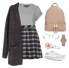 Designer Clothes, Shoes & Bags for Women Teen Fashion Outfits, Mode Outfits, Retro Outfits, Cute Casual Outfits, Simple Outfits, Outfits For Teens, Stylish Outfits, Girl Outfits, Spring Outfits