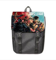 SHOULDER BACKPACK BAG FOR LAPTOP JUSTICE LEAGUE #DSF #Backpack