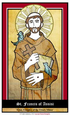 St Francis of Assisi by NowitzkiTramonto