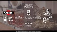 Paris Food & Drink Events: Ambassadeurs Take Over the Jefrey's February 19 @ 19:00 - 23:00