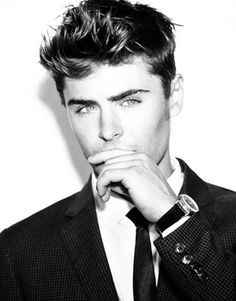 zac efron. yes id rob that craddle!