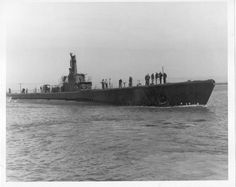 """USS HAWKBILL"" (SS-366) a (311.9') Balao Class Submarine – Comm: 17 May 1944 (Honors: 6 Battle Stars for WW ll Service and the Navy Unit Commendation for Performance on Patrols 1, 3, & 4) Crew: 10 Officers, 71 Enlisted – Armament: 10 x 21 Inch (533mm) Torpedo Tubes (6 Forward, 4 Aft – 24 Reloads) 1 x 5 Inch (127mm) Deck Gun, 1 x 40mm Bofors AA and 1 x 20mm Oerlikon AA Guns – Decomm: 21 April 1953 and Transferred to the Netherlands – Renamed: ""HNLMS ZEELEEUW (S803) Scrapped: 24 November 1970…"