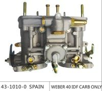 Venda weber carburador 40 IDF CARB para bug / bettle / vw com buzina de ar dellorto carburador