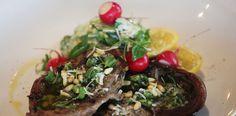 Lamb chops with yoghurt cucumber salad on the #braai