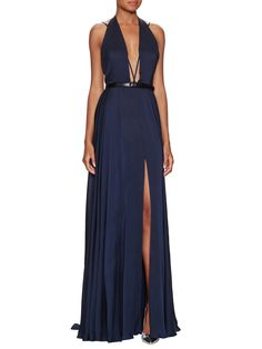 Silk Belted Parachute Gown from Best-Dressed Wedding Guest: Black Tie on Gilt