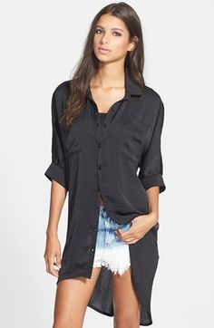 June & Hudson High/Low Tunic available at #Nordstrom