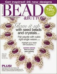 Organic Twist in the April 2014 issue of Bead & Button magazine.