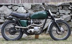 In 2009, Steve McQueen's 1963 Triumph Bonneville Desert Sled sold at Bonhams & Butterfields' first-ever motorcycle and memorabilia auction for $84,240. The bike was personally built by McQueen's good friend, Bud Ekins, the famous stunt rider and off-road racing champ, and was painted by another legend– the epic painter, striper, builder, fabricator, etc., Von Dutch.