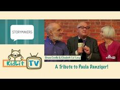 KidLit TV   A Tribute to Paula Danziger - authors Bruce Coville and Elizabth Levy interview with Rocco Staino KidLit.TV Storymakers Series