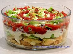 Party Salads, Us Foods, Healthy Desserts, Hot Dogs, Salad Recipes, Food Porn, Easy Meals, Food And Drink, Cooking Recipes