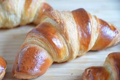 French croissant recipe - Bake Franzbrötchen yourself – rental chef and cooking events Nutella Recipes, Appetizer Recipes, Bread Recipes, Baking Recipes, Dessert Recipes, French Croissant, Yeast Rolls, Hamburger Recipes, Bread Baking