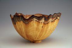 Matt Keim - natural edge mulberry bowl