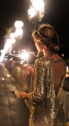 Because everyone needs to wear sequins on New Year's Eve...