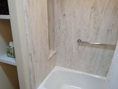 Corian Rain Cloud tub and shower surround. I want a solid surface ...