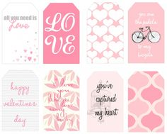 Printable: free valentine's day tags!