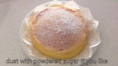 This Japanese Cheesecake With Only 3 Ingredients Has The Entire Internet Drooling. Pastry Recipes, Baking Recipes, Cake Recipes, Dessert Recipes, No Bake Desserts, Just Desserts, Desserts Japonais, Homemade Cheesecake, Cotton Cheesecake